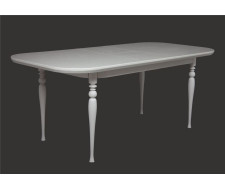 Стол обеденный Вальс-1500 (слоновая кость 9001)