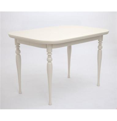 Стол обеденный Вальс-1200 (слоновая кость 9001)
