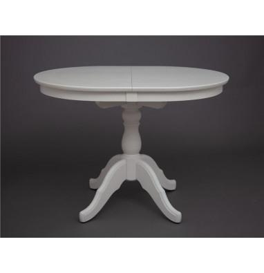 Стол обеденный Лилия-0090 (слоновая кость 9001)