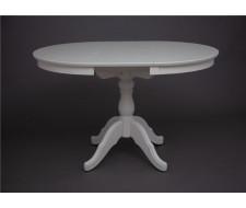 Стол обеденный Круглый-0090 (слоновая кость 9001)