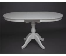 Стол обеденный Овальный-0110 (слоновая кость 9001)