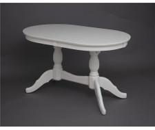 Стол обеденный Лилия-1300 (слоновая кость 9001)