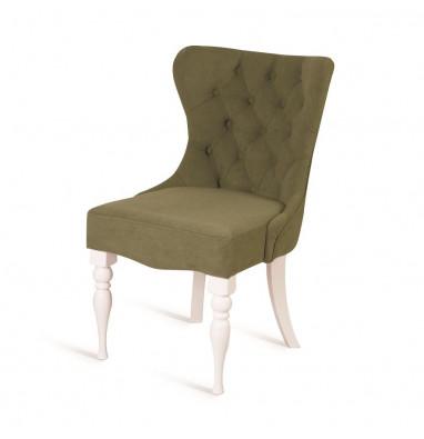 Кресло Вальс (эмаль белая / G09 - малахит)