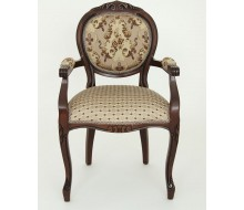 "Кресло ""ОРИОН-2"" п/м (Т-3247 матовый / Brown 206+208) патина черная"