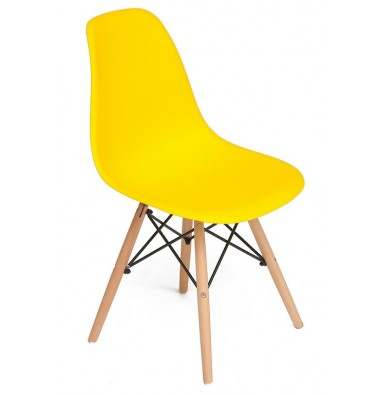 Стул CINDY CHAIR (001) желтое