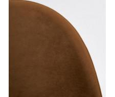 Стул MONRO (mod. 710) коричневый barkhat 11/черный