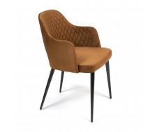 Кресло VALKYRIA (mod. 711) коричневый barkhat 11/черный