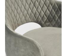 Кресло VALKYRIA (mod. 711) серый barkhat 26/черный
