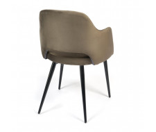 Кресло VALKYRIA (mod. 711) темно-серый barkhat 14/черный