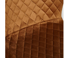 Стул QUINCY (mod. 8272) коричневый (G-062-61)/черный