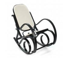 Кресло-качалка mod. AX3002-2 венге, ткань бежевая 1089-С