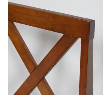 Обеденный комплект эконом Хадсон (стол + 4 стула)/ Hudson Espresso, ткань кор.-зол. (1505-9)