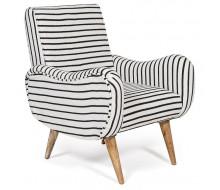 Кресло Secret De Maison «Sondrio» black / white stripes