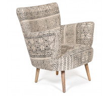 Кресло Secret De Maison «Alba» black / white