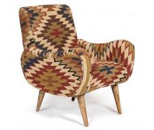 Кресло Secret De Maison «Sondrio» burgundy / brown Kilim