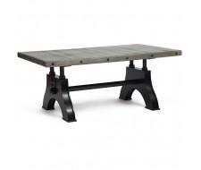 Стол обеденный раздвижной «Chevalet» (mod. 4290-30) (Античный серый)