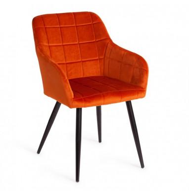 Кресло BEATA (mod. 8266) рыжий/черный, G062-24