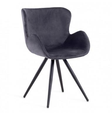Кресло BOEING (mod. 9120) серый/черный