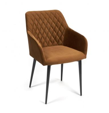 Кресло BREMO (mod. 708) коричневый barkhat 11/черный