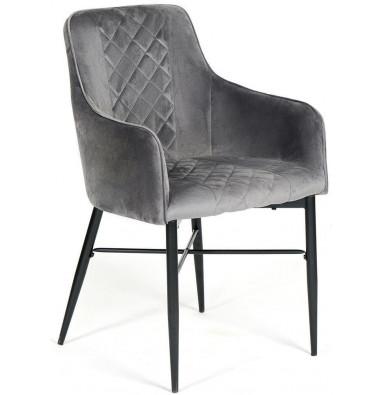 Кресло FORZA (mod.5175-2) серый/черный, G062-40