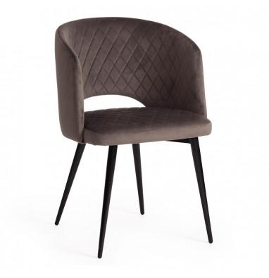 Кресло WIND (mod. 717) темно-серый barkhat 14/черный
