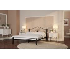 Кровать Фортуна 4 Лайт (чёрный/шоколад) 120х200 см