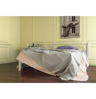 Кровать Фортуна 4 Лайт (белый/белый) 160х200 см