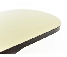 Стол Корсика стекло 70 х 110, Венге /Молочный