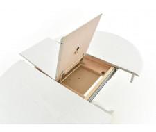 Стол раздвижной Фабрицио 1 (D 820), Тон 9 (Эмаль белая)