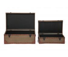 Набор из 2-х столиков-сундуков Secret de Maison BOUTIQUE (mod М-11073)