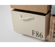 Тумба с 6 ящиками Secret De Maison «Maritime 6» (HX16-006NS) (Butter white)