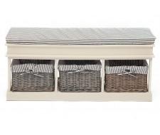 Обувница Secret De Maison «Seige» (Сьеж) SH-82301 с 3-я корзинами и ящиком