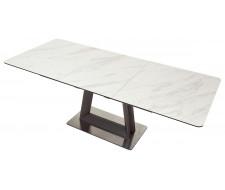 Стол OSVALD 160 MARBLES KL-99 Белый мрамор, итальянская керамика