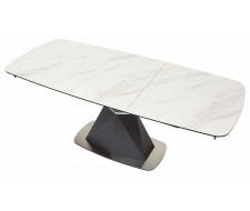 Стол SEVERIN 150 MARBLES KL-99 Белый мрамор, итальянская керамика