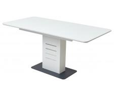 Стол Соната 120 Белый, стекло