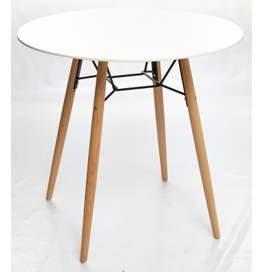 Стол CLIDE D90 белый