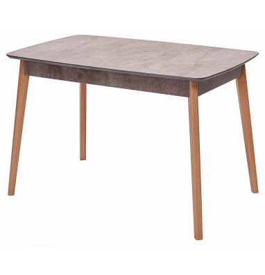 Стол 29 GRAY MARBLE серый мрамор