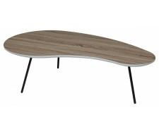 Журнальный столик WOOD61 Дуб серо-коричневый винтажный