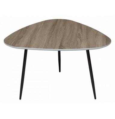Журнальный столик WOOD62 Дуб серо-коричневый винтажный