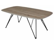 Журнальный столик WOOD83 дуб серо-коричневый винтажный