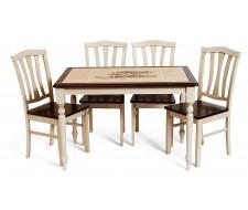 Стол с плиткой СТ 3045P Дерево