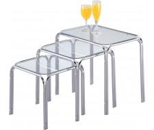 Кофейный столик ЕР 60129U (набор 3 шт.)