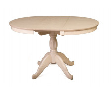 Стол обеденный Лилия-0090 (беленый дуб)