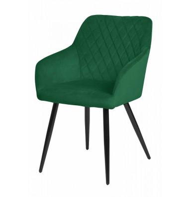 Стул BRANDY зеленый, велюр G062-18