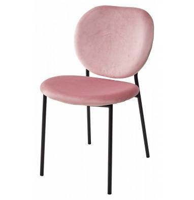 Стул MOD G062-78 розовый, велюр