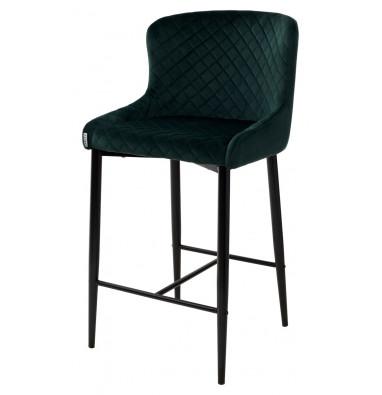 Полубарный стул ARTEMIS BLUVEL-78 GREEN (H=65cm)