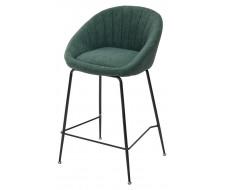 Полубарный стул ATLAS 9105-17 изумруд (H=65cm)