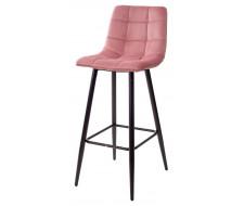 Барный стул LECCO UF910-07 PINK, велюр
