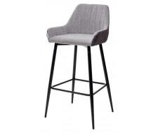 Барный стул PUNCH антрацитовый меланж FC-09/ MF-03