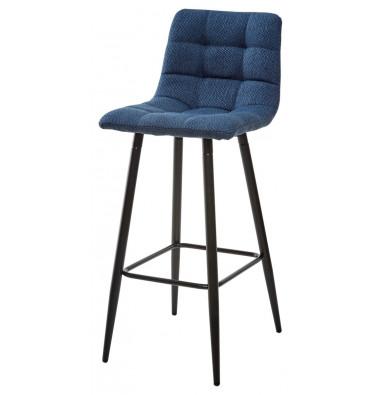 Барный стул SPICE TRF-06 полночный синий, ткань